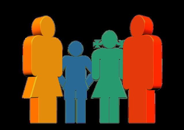 čtyřčlená rodina
