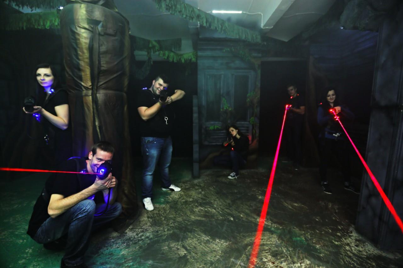 Luxusní laser game Praha