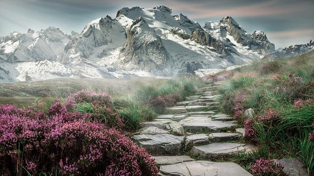 cesta k horám