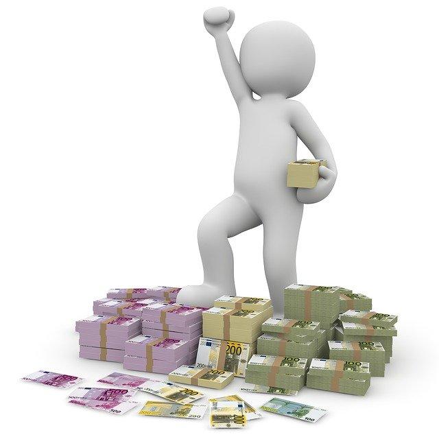 peníze radost