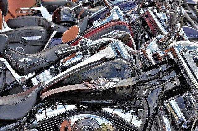 První motorka