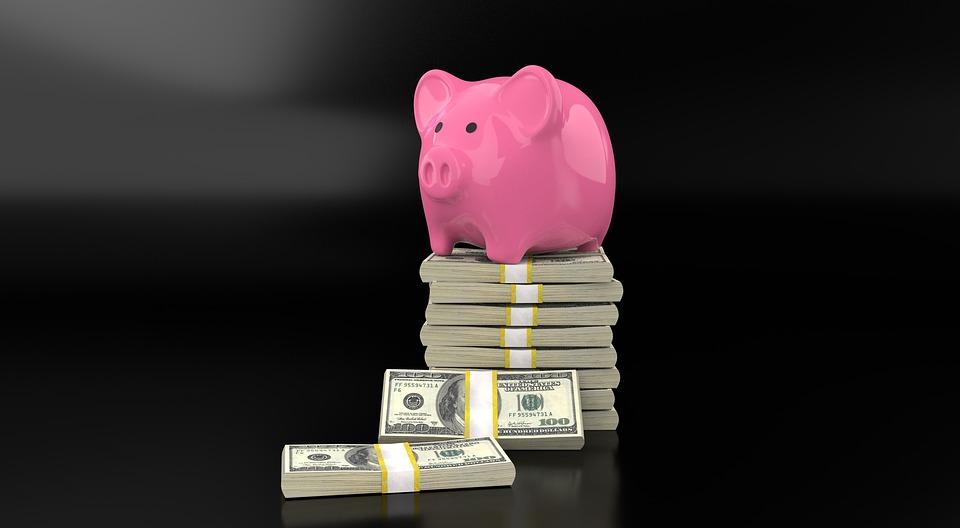 prasátko na penězích